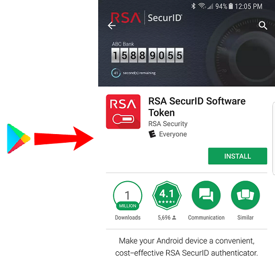 Installing and configuring RSA SecurID on your mobile device